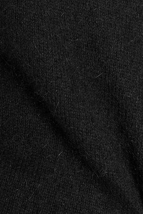 BALMAIN Angora wool-blend sweater