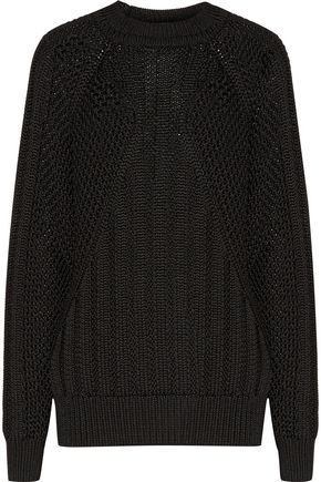 BALMAIN Cable-knit sweater