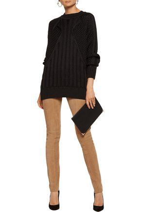 BALMAIN Cable-knit sweater