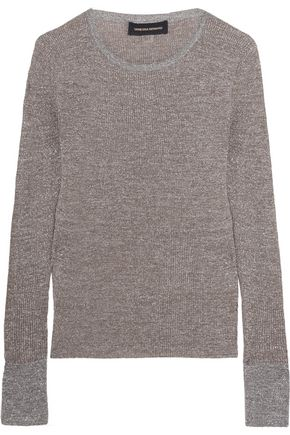VANESSA SEWARD Champ metallic knitted sweater