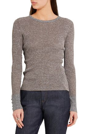VANESSA SEWARD Champ metallic knitted sweater
