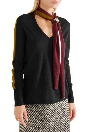 TOMAS MAIER Striped merino wool sweater