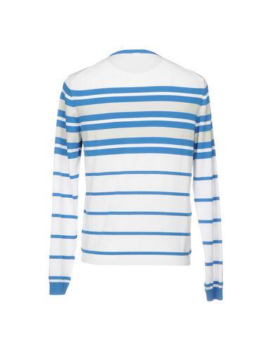 Фото 2 - Мужской свитер  синего цвета