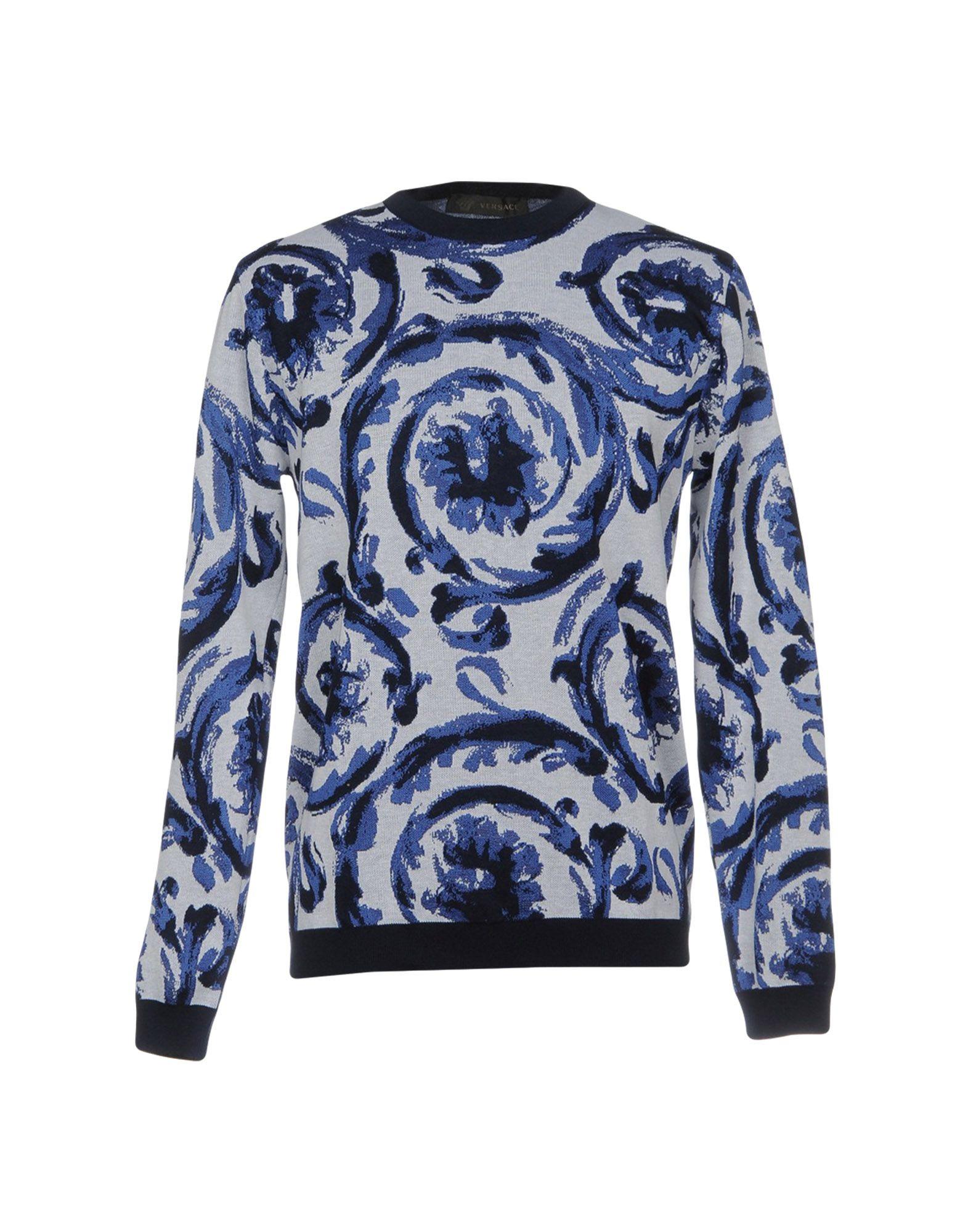 VERSACE Свитер футболка versace разноцветный