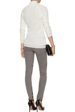 BALMAIN Mohair-blend sweater