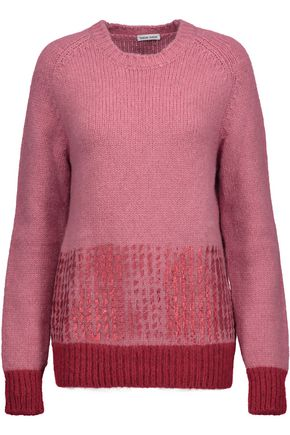 TOMAS MAIER Metallic alpaca-blend sweater