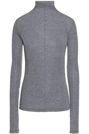 MAJE Wool-blend turtleneck top