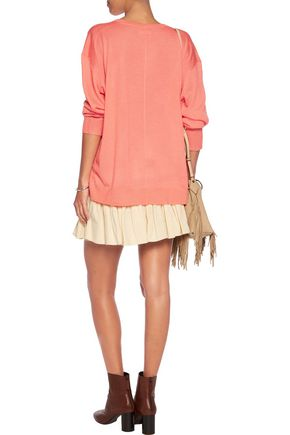 ISABEL MARANT Berwyn cashmere and silk-blend sweater