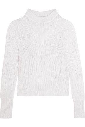 ISABEL MARANT Zutti open-knit linen-blend sweater