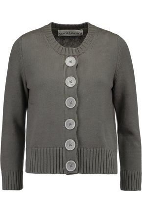 GOAT LIBRARY Digby ribbed cotton cardigan