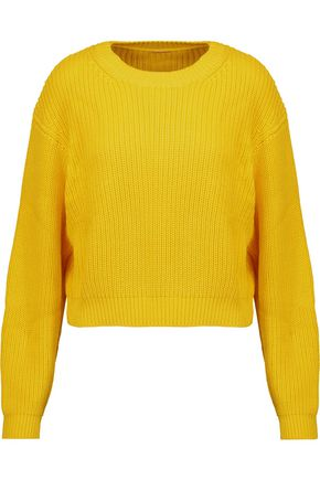 ADAM LIPPES Cable-knit cotton sweater