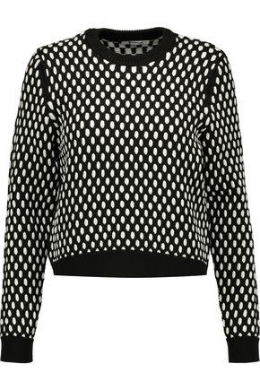 T by ALEXANDER WANG Jacquard-knit sweater