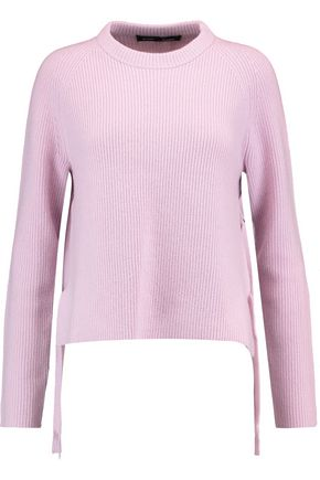 PROENZA SCHOULER Tied wool and cashmere-blend sweater