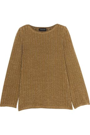 VANESSA SEWARD Metallic open-knit sweater