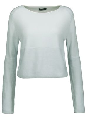 RAG & BONE Kara paneled merino wool sweater