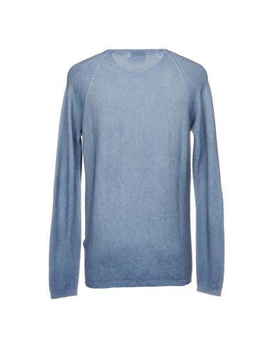 Фото 2 - Мужской свитер AROVESCIO пастельно-синего цвета