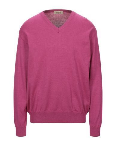 Фото - Мужской свитер MONTECHIARO® цвета фуксия