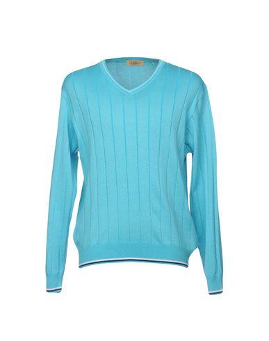 Фото - Мужской свитер MONTECHIARO® бирюзового цвета