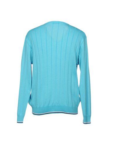 Фото 2 - Мужской свитер MONTECHIARO® бирюзового цвета