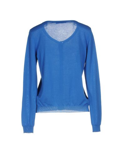 Фото 2 - Женский кардиган  ярко-синего цвета