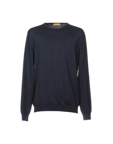 Фото - Мужской свитер BRYAN DAVIS темно-синего цвета