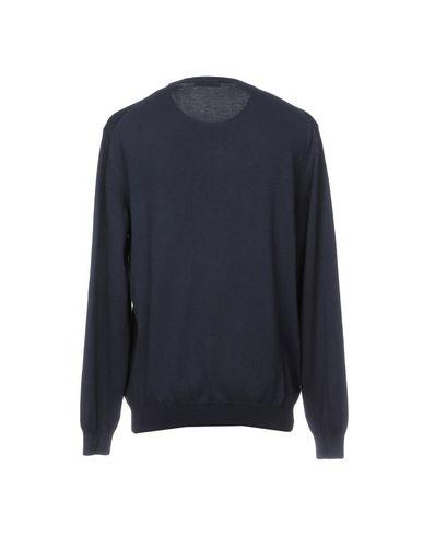 Фото 2 - Мужской свитер BRYAN DAVIS темно-синего цвета