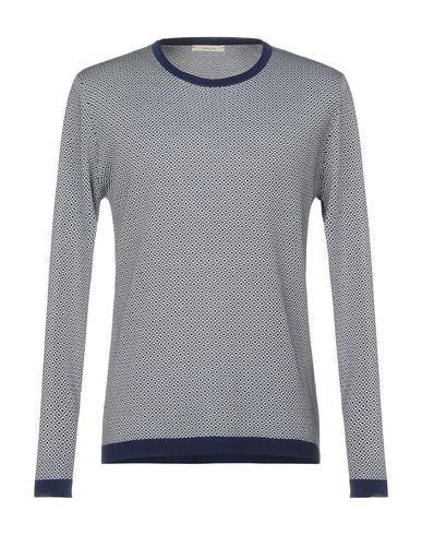 Фото - Мужской свитер OBVIOUS BASIC темно-синего цвета