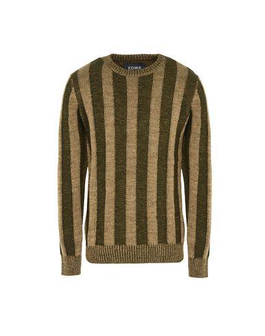 Фото - Мужской свитер EDWA цвет зеленый-милитари
