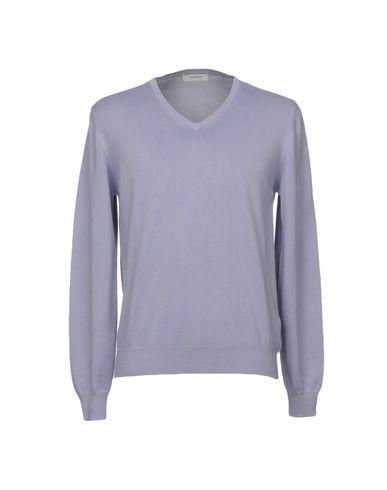 Фото - Мужской свитер ALPHA STUDIO сиреневого цвета