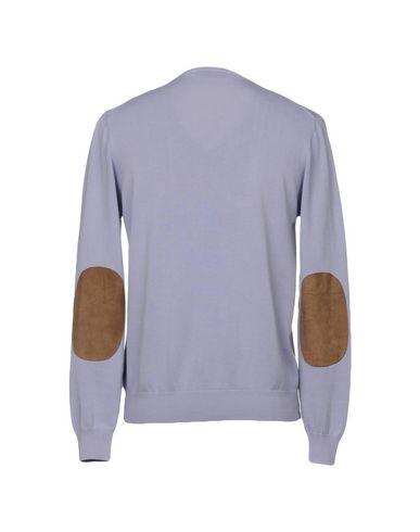 Фото 2 - Мужской свитер ALPHA STUDIO сиреневого цвета