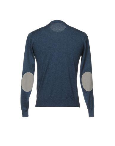 Фото 2 - Мужской свитер FILIPPO DE LAURENTIIS грифельно-синего цвета