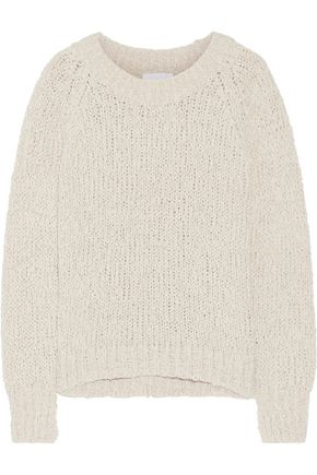 CO Open-knit cotton-blend sweater