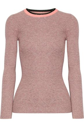 APIECE APART De Colores mélange ribbed-knit cotton sweater