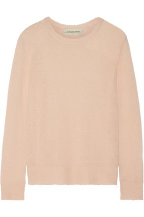 BY MALENE BIRGER Rasminy distressed stretch-knit sweater