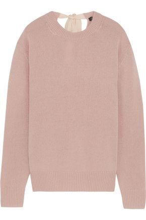 JOSEPH Tie-back cashmere sweater