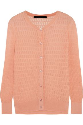 MARC BY MARC JACOBS Rose open-knit cotton-blend cardigan