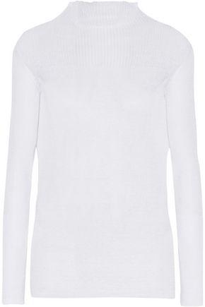 ISABEL MARANT Ziggy linen-blend sweater