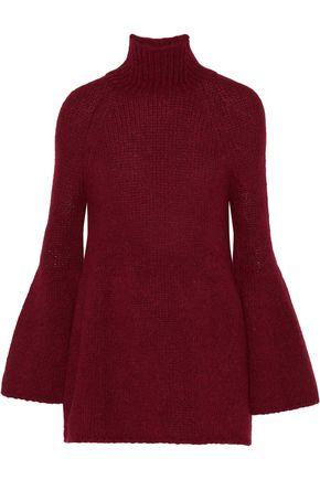 Alpaca-blend turtleneck sweater