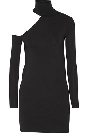 BY MALENE BIRGER Ayai cutout stretch-knit turtleneck sweater