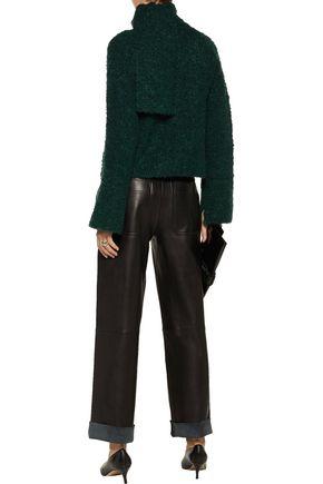 CINQ À SEPT Beby wool-blend bouclé sweater