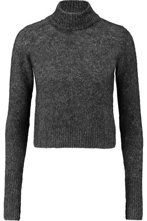 GANNI Felt turtleneck sweater