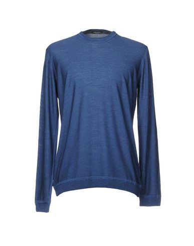 Фото - Мужской свитер ROBERTO COLLINA грифельно-синего цвета