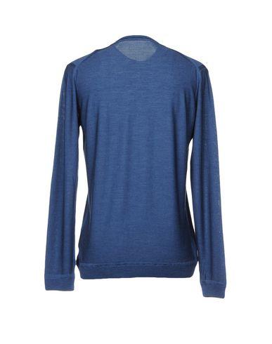 Фото 2 - Мужской свитер ROBERTO COLLINA грифельно-синего цвета