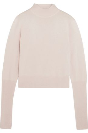DION LEE Cutout cashmere turtleneck sweater