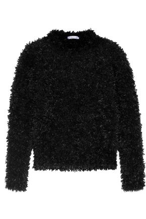 MAX MARA Fringed knitted sweater