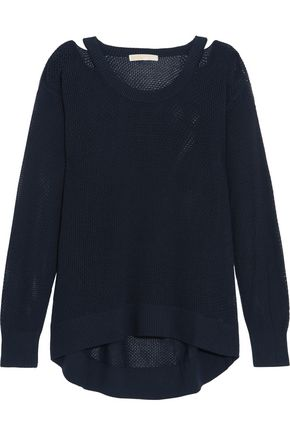 MICHAEL MICHAEL KORS Cutout open-knit sweater