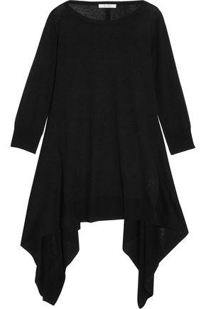 MAX MARA Draped silk and cashmere-blend top