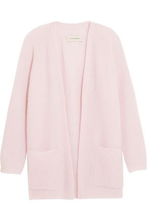 BY MALENE BIRGER Belinta brushed ribbed-knit cardigan