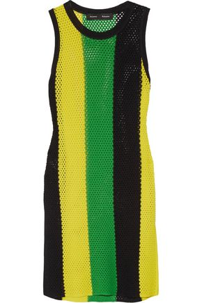 PROENZA SCHOULER Striped open-knit top
