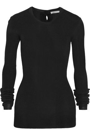PROTAGONIST Ribbed-knit sweater